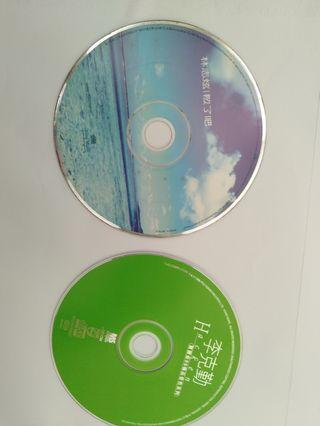 Chinese/ Cantonese cds ( both without covers)
