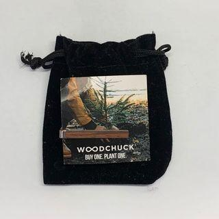 🚚 Wood Tie Bar from WOODCHUCK