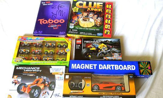 BN Various board games & toys
