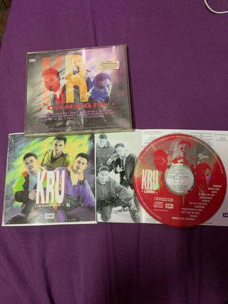 Cd KRU Canggih 1st press