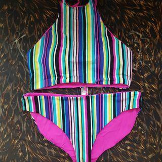 Reversible bikini plus size