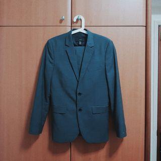 H&M Dark Grey Suit Set
