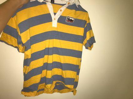 🚚 黃藍條紋上衣