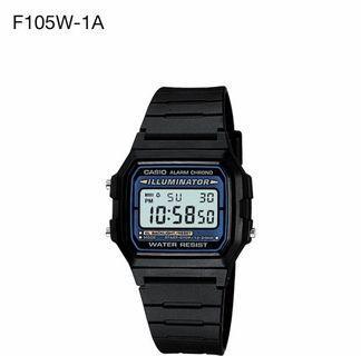 🍎Wholesales price- Original Casio Watch F-105W-1A