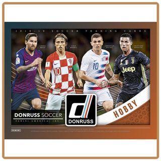 2018/2019 Panini Donruss Soccer Trading Cards