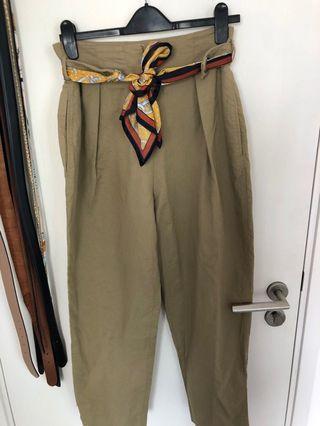 Mango scarf tie pants Eur 40 (fits uk 10)