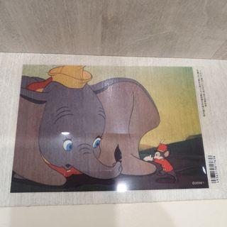 Disney Dumbo Disneystore Postcard Sticker