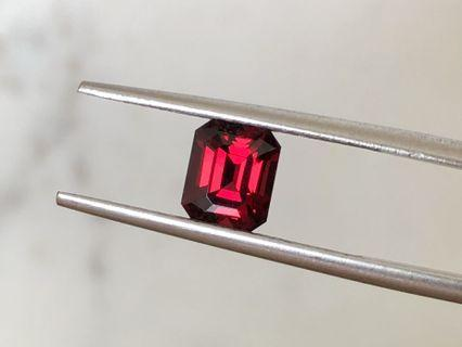 Shall we customise a men's ring? 1.5 ct Burma red spinel