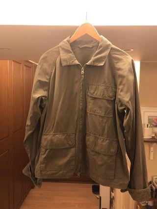 ASPESI Military Game Jacket corduroy trimmed olive green