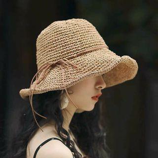 🚚 編織織海灘帽