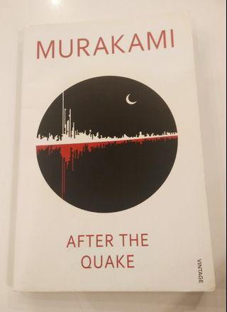AFTER THE QUAKE by HARUKI MURAKAMI #JuneToGo