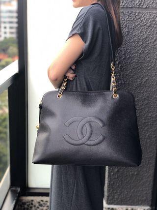 Chanel Caviar Jumbo Tote