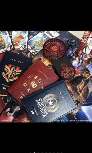 🚚 復仇者聯盟護照套(美國隊長)