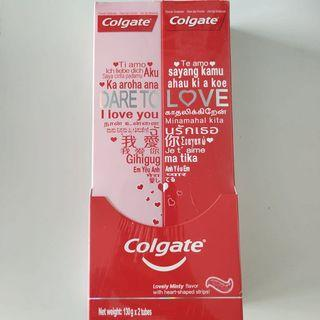 Colgate Dare to Love Twin-pack Toothpaste