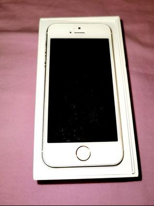 Used iPhone 5s Gold 16GB in Very Good condition