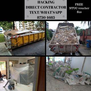 Direct hacking & tiling. HDB licensed. What'sapp us 87504685