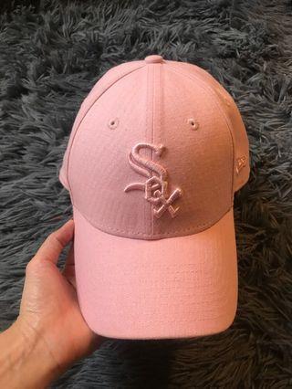 AUTH NEW ERA PINK BASEBALL CAP