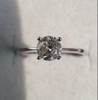 🚚 Sales!! Diamond Ring 0.83ct (Authentic)