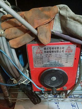 讚成牌 焊接機 少用 含5.5線 手套