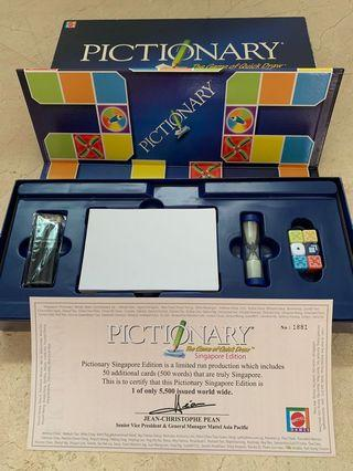Pictionary Singapore Limited Edition