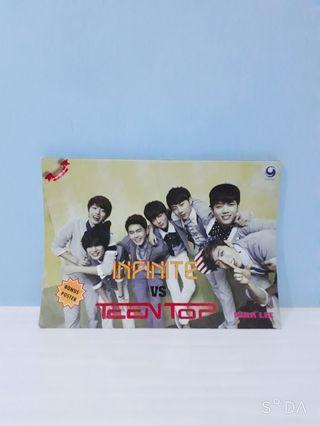 Buku Infinite Vs TeenTop by Nina Lee
