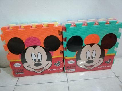 Mickey Mouse Puzzle Mat 10pieces x2sets #CarouRaya #RayaHome