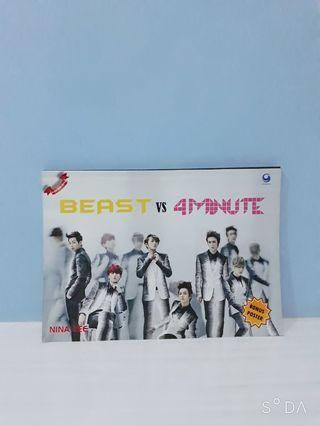 Buku Beast Vs 4minute by nina lee