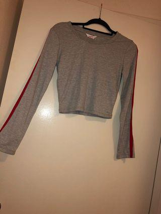 Size Small long sleeve Croptop
