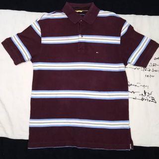 #BAPAU Polo Shirt Tommy Hilfiger Coklat