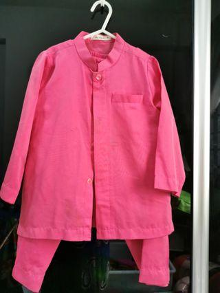 🚚 Light Pink Baju Kurung (Boy)