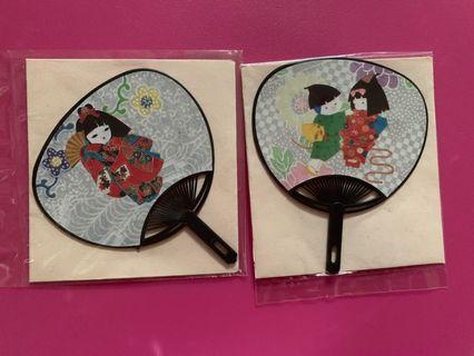 💕 < Mini Japanese Fan Card >