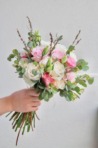 Bridal bouquet 🌸 rose bouquet