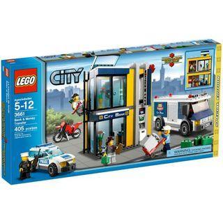 LEGO City Police Bank & Money Transfer 3661