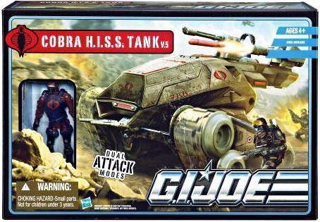 GI Joe Pursuit of Cobra POC HISS Tank