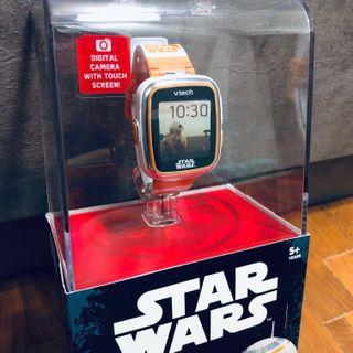 ~Ready Stocked~ VTech Star Wars BB-8 Smartwatch, clock, camera and watch