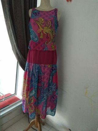 #Bapau long dress