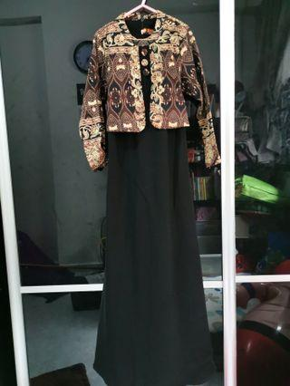 🚚 Long Dress Batik Design (Girl)