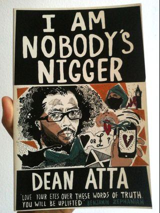"Dean Atta, ""I Am Nobody's Nigger"""