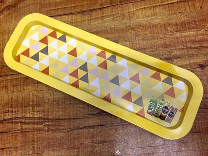 Nescafe Milo RTD Metal Tray (Yellow) #RayaHome