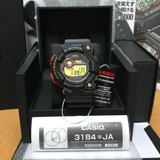 🎯 LAST PIECE 🎯 🐸Frogman🐸 Casio G-Shock GWF 1035F-1JR (Japan Model) Casio G-Shock Magma Ocean Series Frogman 25th Anniversary Limited Edition GWF1035F ❤️👍🏻👍🏻👍🏻 Includes a copy of the G-Shock 35th Anniversary Perfect Bible. New and Sealed 🤗🤗🤗