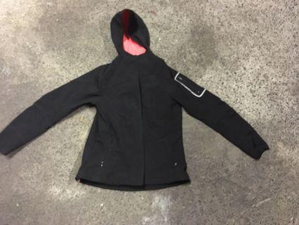 Windbreaker raincoat fleece jacket
