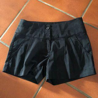 🚚 Osmose Black Shorts