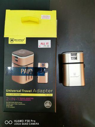 MicroPack Universal Travel Adapter