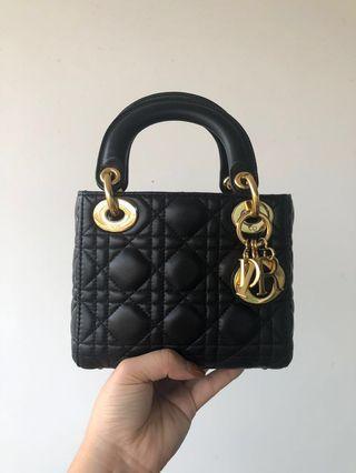 🚚 2018 Lady Dior Mini Bag