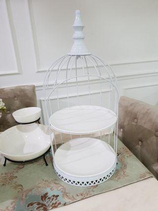 🚚 White birdcage tray offer offer📣🔊📢