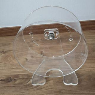 Acrylic wheel with stand 20cm