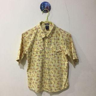 Yellow Flowery Top
