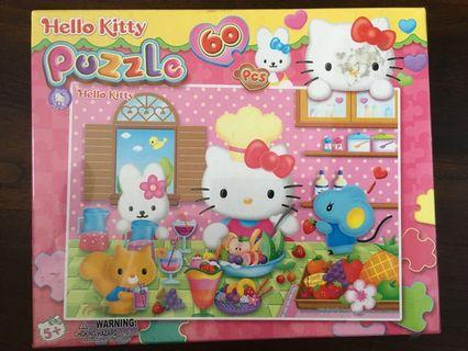 Hello Kitty Jigsaw Puzzle 60pc Pieces