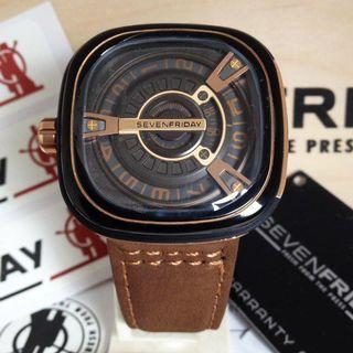 Jam Tangan Seven Friday SF-M2 FullSet Box Ori