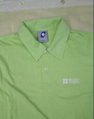 英國文化協會綠色二手Polo Shirt